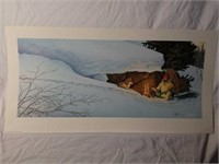 Signed Scott Kennedy Campfire Numbered Print