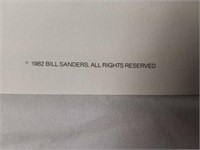 "Signed Bill Sanders ""Emits Gobbler"" A.P. Print"