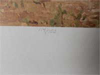 "Signed Ray Swanson ""Navajo Daily Word"" Print"