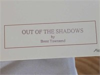 "Sined Brent Townsend ""Out of the Shadows"" Print"