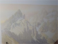 """Signed Roy Kerswill """"In The Gloaming"""" Print"""