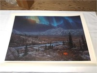 Stephen Lyman Midnight fire signed print