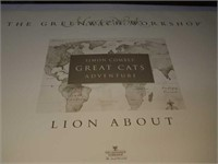 Simon Combes Lion about signed print