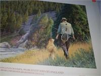 Fishing buddies by Scott Kennedy signed print