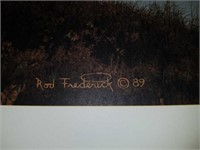 Rod Frederick signed and numbered print