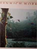 """Signed Rod Frederick """"Rain Forest Rendezvous"""""""