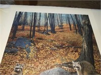 Brent Townsend Autumn hillside signed numbered