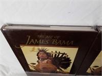 """2 """"The Art of James Bama"""" Books by Elmer Kelton"""