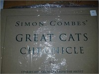 Simon Combes' great cats adventure book