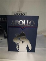 Apollo hardback book signed  by Alan Bean