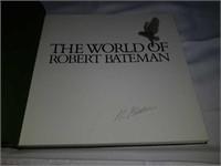 Autographed book by Robert Bateman