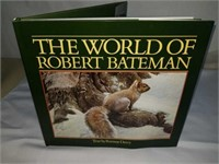World of Robert Bateman signed book