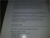Autographed The Art of Robert Bateman book