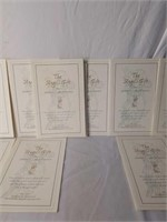 "11 James Christensen ""The Angel's Gift"" Prints"