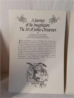 "Lot of 11 James Christensen ""Nestor"" Prints & Book"