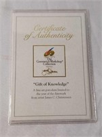"James Christensen ""Gift of Knowledge"" Ornament"