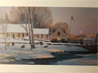 "Signed William Phillips ""December of '45"" Print"