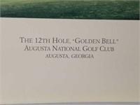 "Signed Linda Hartough ""Golden Bell"" Print"