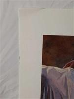 Signed Steve Hanks Numbered Print #126/300