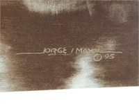 """Signed Jorge Mayol """"Where Time Stands Still"""" Print"""