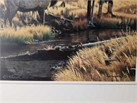 "Signed Rod Frederick ""Glory Days"" Numbered Print"