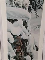Signed 3 Panel Rod Frederick Goat Print #1061/2500