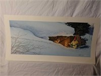 Signed Scott Kennedy Campfire Print #1248/4000
