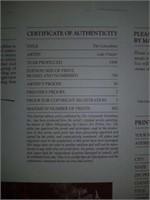 "Signed Luke Frazier ""The Concubine"" Print #9/750"