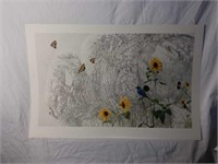 """Signed Rod Frederick """"Drifters"""" Print #690/850"""