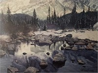 """Signed Brent Townsend """"Mountain Light"""" Print"""