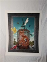 "Beautiful Braldt Bralds ""Cat-as-trophy"" Print"