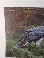 "Limited Edition Alan Hunt ""Missed"" Print #554/975"