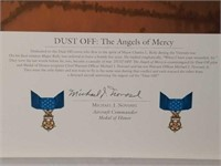 """Signed William Phillips """"Dust Off:Angels of Mercy"""""""
