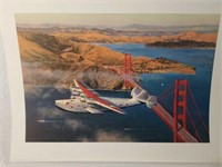 "Signed William Phillips ""Clipper at the Gate"""