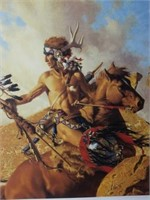 "Signed Frank McCarthy ""Way of Ancient Migration"""