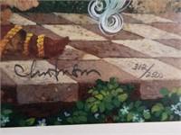 "Signed ""The Oldest Professor"" Numbered Print"