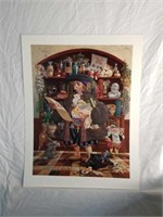"Signed Christensen ""The Oath"" Numbered Print"
