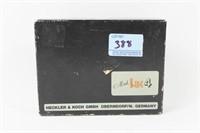 H & K .22 CAL PISTOL 1 MAGAZINE, ORIGINAL BOX