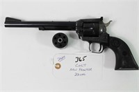 COLT .22 CAL REVOLVER WITH .22 MAG CYLINDER,
