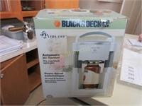 Black and Decker jar opener