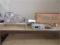 Stainless meat slicer
