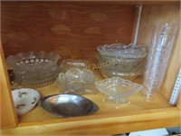 Contents of cupboard and counter