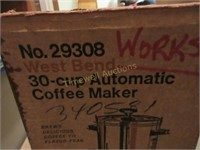 30 cup coffee perculator