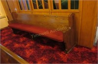 10' Curved pew