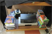 TV/VCR/DVD on stand