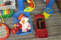 Grouping of toys