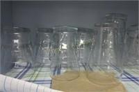 Cupboard full of glasses