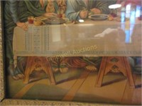 """""""The Last Supper"""" print"""