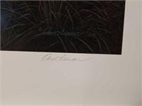 "Signed David Lanier ""Mossy Oak Pointers"" Print"