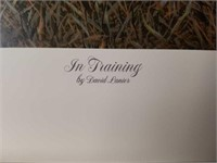 """Signed David Lanier """"In Training"""" A.P Print #23/95"""